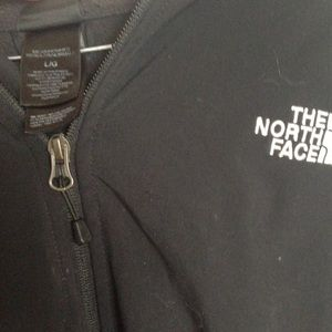The North Face Jackets & Coats - Men's L black insulated north face jacket hood zip